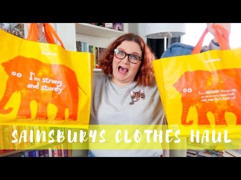 Tu Sainsbury's Clothing Haul | Lauren and the Books