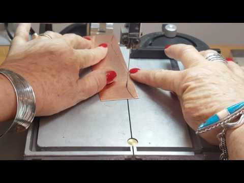How to cut metal using a band saw by Joni Kisro