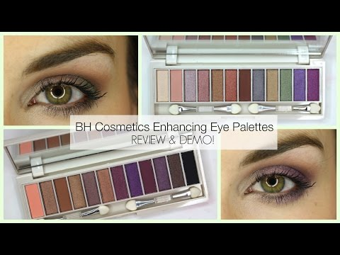 BH Cosmetics Enhancing Green and Brown Eyes Palette Review! | Bailey B.
