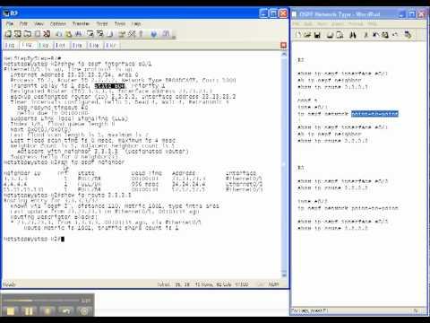 OSPF Video Cheat Sheet: Network Type