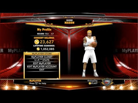 NBA 2K13 EASY VC glitch: +12000vc per HOUR