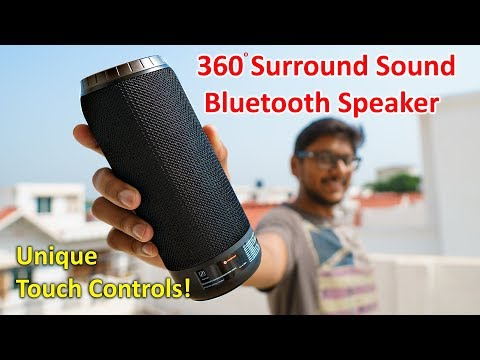 360 Surround Sound Wireless Speaker with Touch Controls...