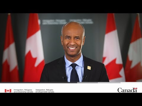 Citizenship Week 2017 message from Minister Hussen