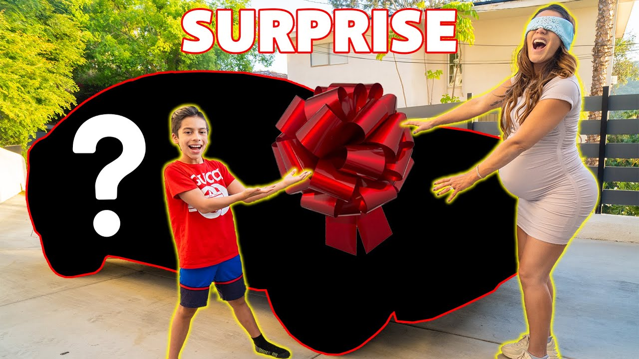 SURPRISING My MOM With Her DREAM CAR! **SPEECHLESS* | The Royalty Family