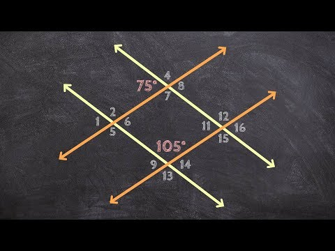 Geometry - Identifying Consecutive Angles to Find the Measure of an Angle