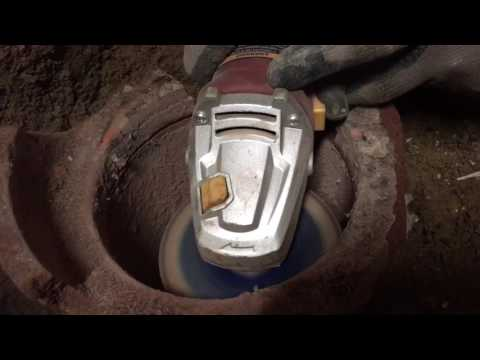 How to fix old clay drains to pvc