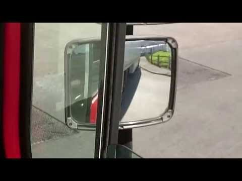Truck reversing with correction