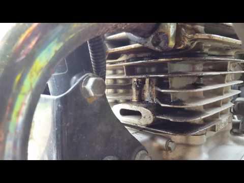 GZ 250 head gasket leaking oil.