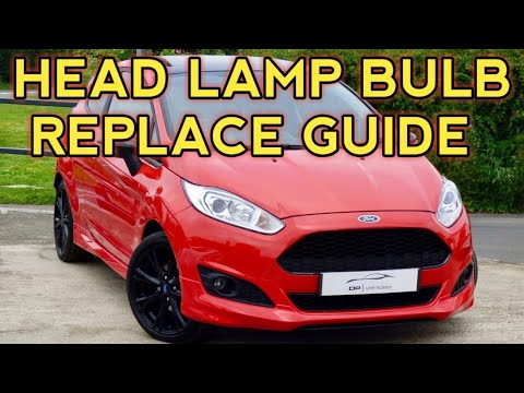 Ford Fiesta mk7 and mk7.5 headlight removal guide