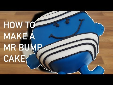How to Make a Mr Bump Cake from Mr Men - Cakes for Kids