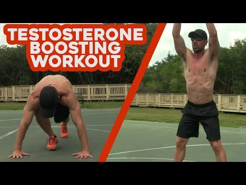 Testosterone BOOSTING Workout without Weights