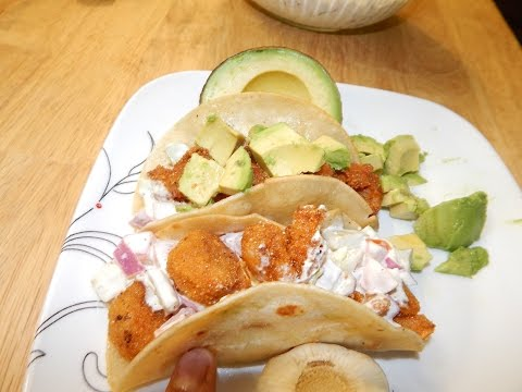 Fried Shrimp Tacos