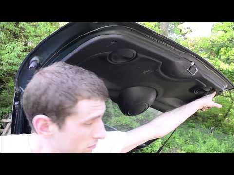 MINI Cooper Hatch Interior Panel Removal