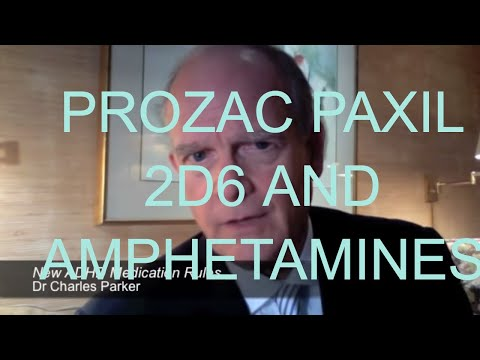 Prozac, Paxil & Drug Interactions With Amphetamines for ADHD