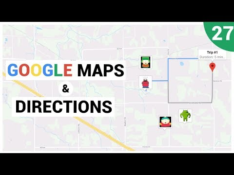 Google Maps Directions Using an Intent