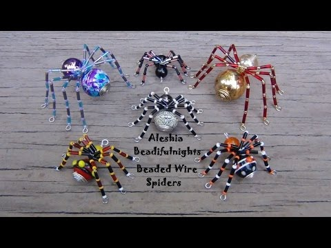 Beaded Wire Spider Tutorial