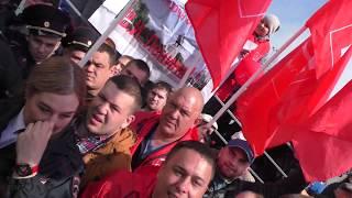 КПРФ выкинула Единую Россию со сцены на митинге в Ульяновске