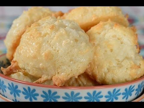 Coconut Macaroons Recipe Demonstration - Joyofbaking.com