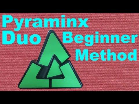 How to Solve the Pyraminx Duo [Beginner Method]