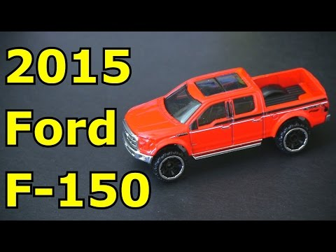 Hot Wheels 2015 Ford F150 - Awesome Truck