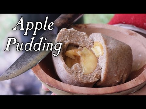 Simple Apple Pudding - 18th Century Cooking - Soldier Cooking