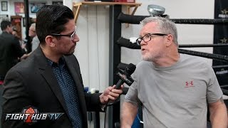 """Freddie Roach """"Golovkin won the fight! Says Canelo will not expose Golokvin, """"GGG is too strong"""""""