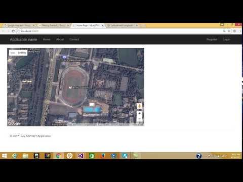 Part-1:How to configure Google map in ASP.NET MVC | API Configure | Jquery | Javascript