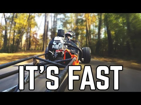 670cc Dragster Pt. 10 | FIRST RIDE