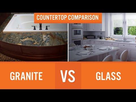 Granite vs Glass | Countertop Comparison