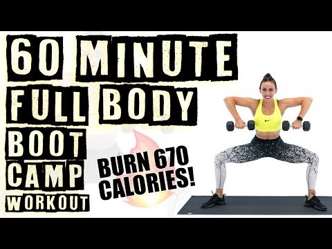 60 Minute Full Body Boot Camp Workout 🔥Burn 670 Calories! 🔥