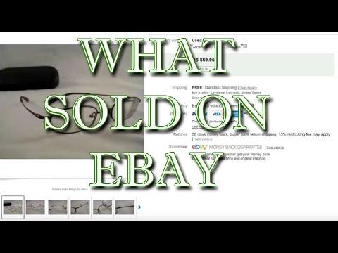 What I have sold on ebay USED PRESCRIPTION EYEGLASS FRAMES - Dorky Thrifters