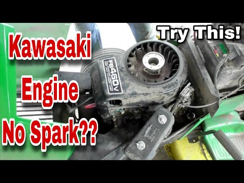 What To Look For When Your Kawasaki FB460V Engine Has No Spark - with Taryl
