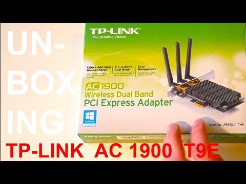 TP-Link Archer T9E AC1900 WiFi PCIE Card