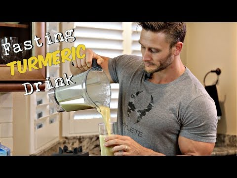 Drink This After Fasting: Turmeric Golden Milk Shake: Thomas DeLauer