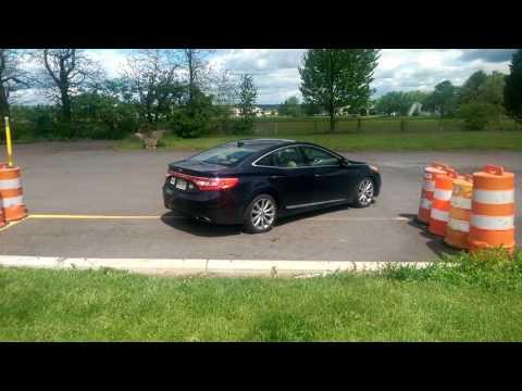 Parallel Parking test at Dublin, Pennsylvania