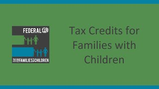 Tax Credits For Families With Children