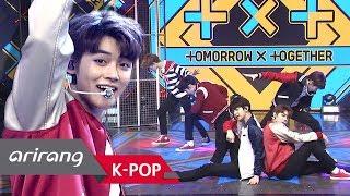 Download [Simply K-Pop] Simply's Spotlight TOMORROW X TOGETHER(투모로우바이투게더) CROWN(어느날 머리에서 뿔이 자랐다) 032219 Video