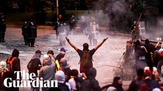 Colombia: violence erupts in Bogotá after anti-government protests