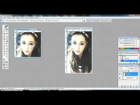 Tutorial; How To Make Twitter Icons Using Photoshop.