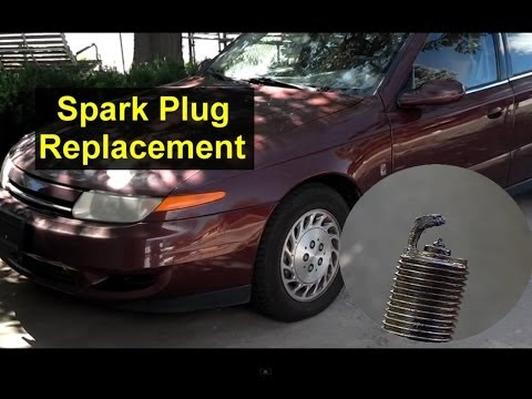 How to replace the spark plugs, Saturn L Series tune up - VOTD