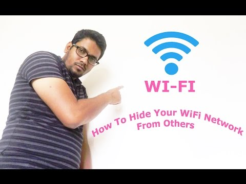 HINDI || How To Hide Your WiFi Network From Others