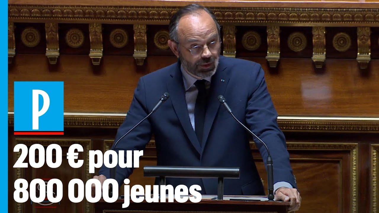 Philippe annonce une aide de 200€ pour 800 000 jeunes de moins de 25 ans