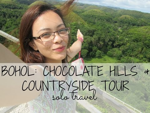 Bohol Day 3: SOLO TRAVEL Chocolate Hills & Countryside Tour