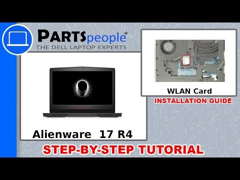 Dell Alienware 17 R4 (P12S001) WLAN Card How-To Video Tutorial