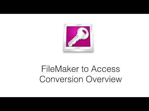 Automated FileMaker to Access Conversion Overview