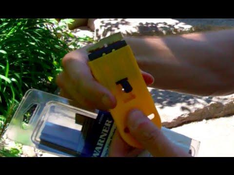 How To Replace Scraper Blade