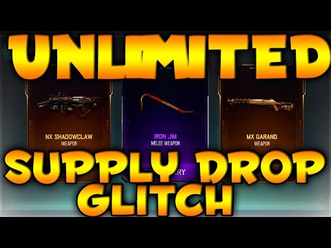UNLIMITED SUPPLY DROP GLITCH