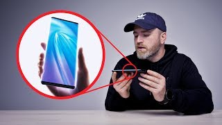 """Unboxing The """"Waterfall"""" Smartphone"""