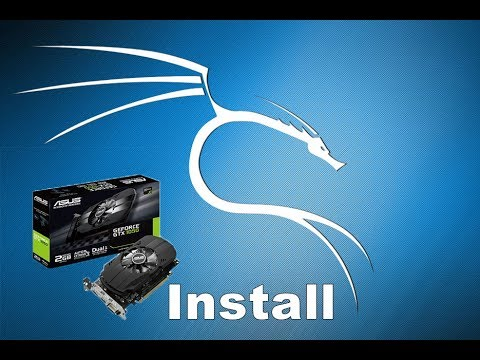 Como instalar placa de vídeo nvidia no Kali Linux