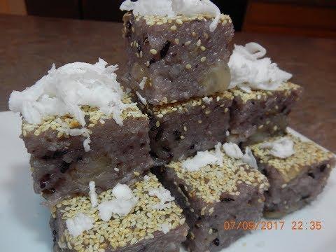 Longan in Sweet Sticky Rice Dessert Recipe